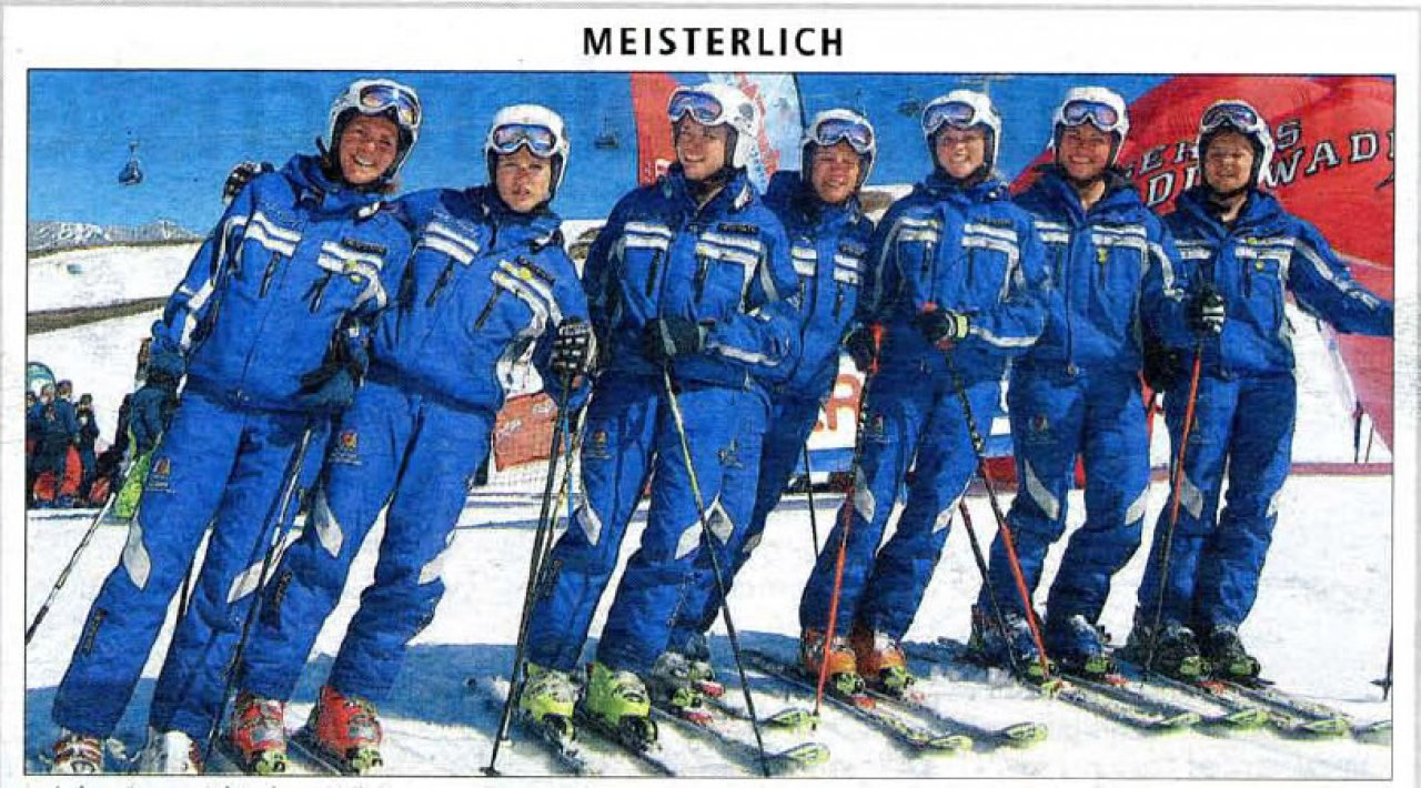 2007 and 2008 – Successful Years for the Ladies' Demo-skiing Team