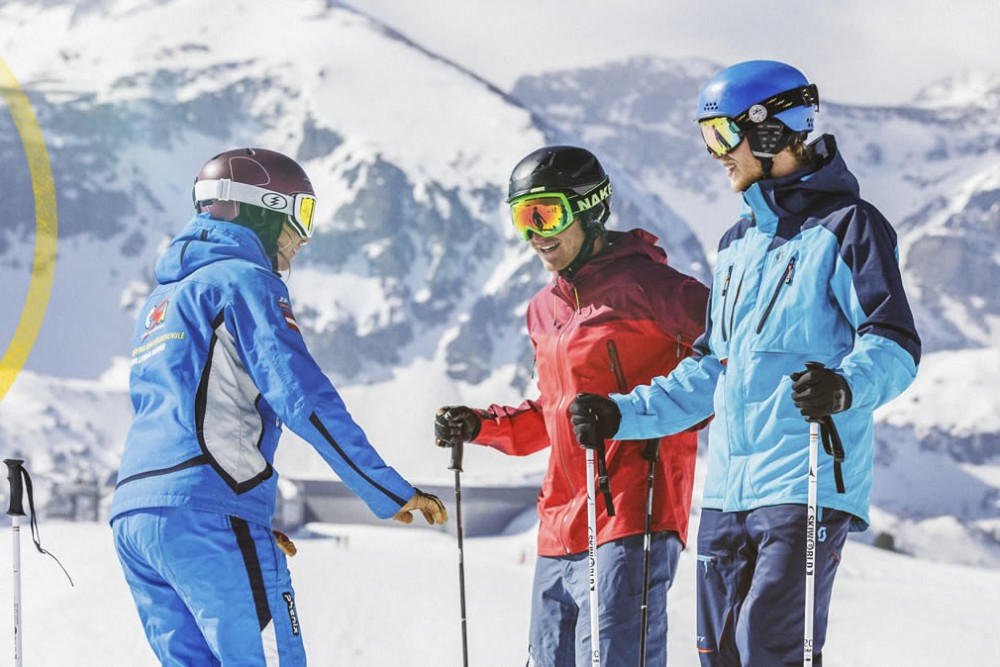 Individual Skiing Course For Adults And Children Csa Skischule