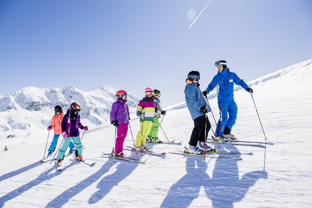 Skiing holiday with the family