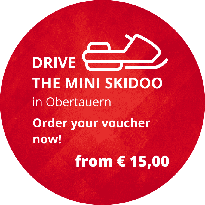 Skidoo driving for kids in Obertauern