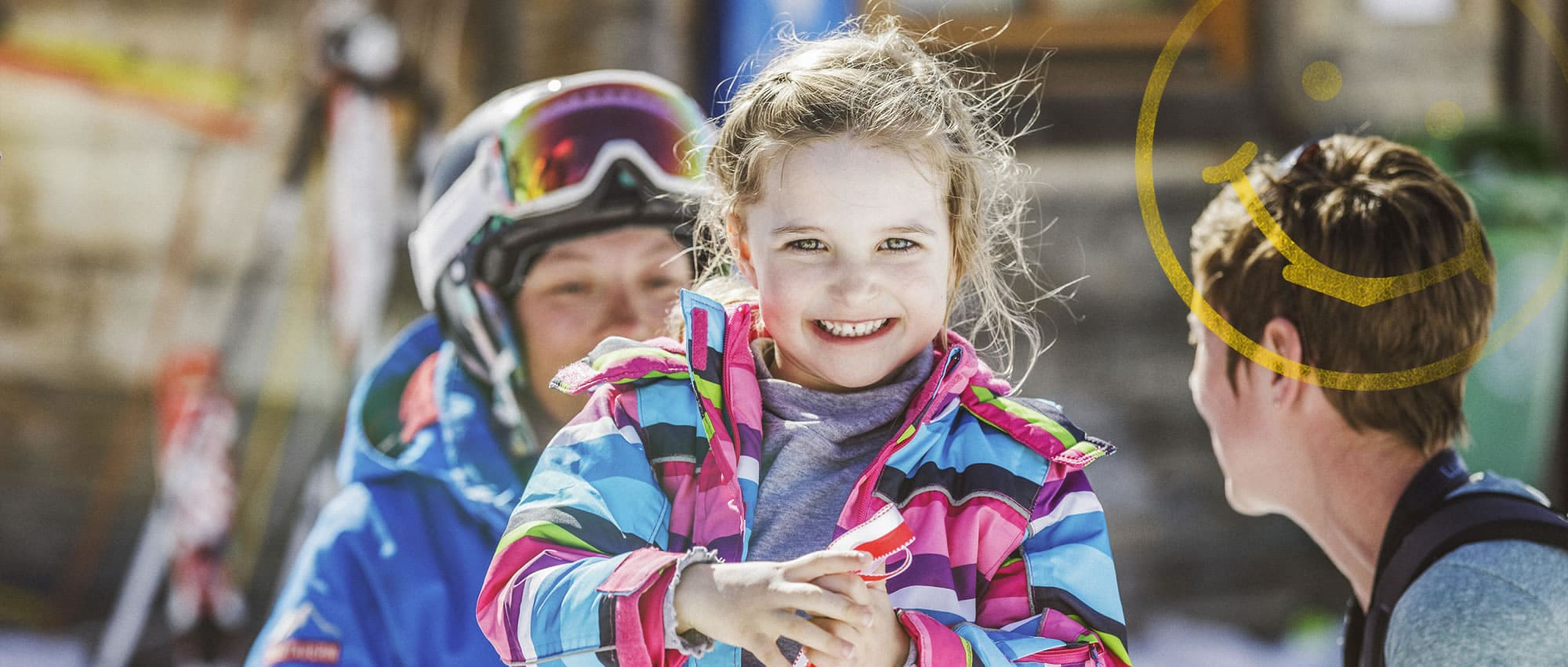 Children's skiing courses in Salzburger Land