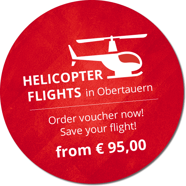 Helicopterflights  in Obertauern from EUR 65,00